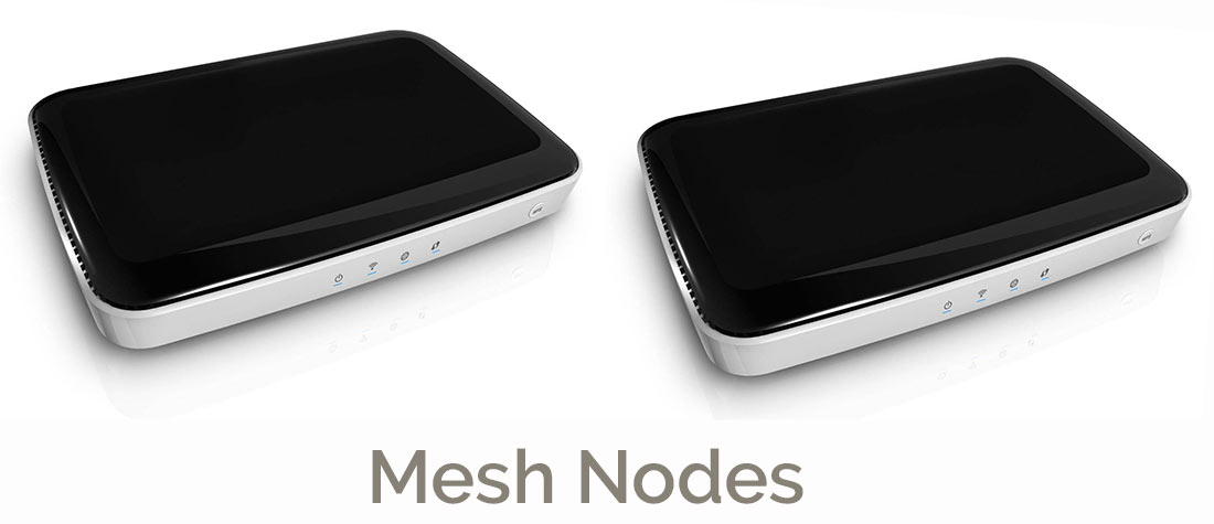 Clean Router Mesh Nodes
